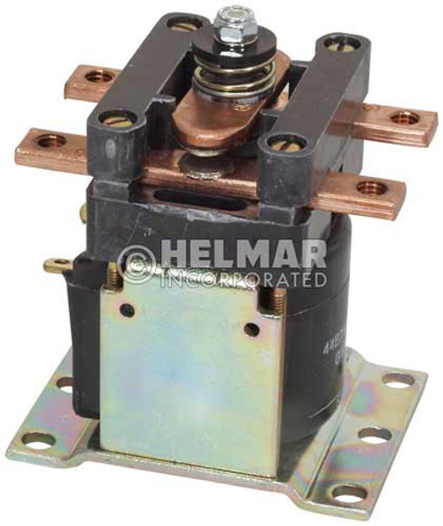CTR-24-266 24 Volt 150 Amp Contactor, Single Pole - Single Throw - Continuous Coil - Mounting Brackets