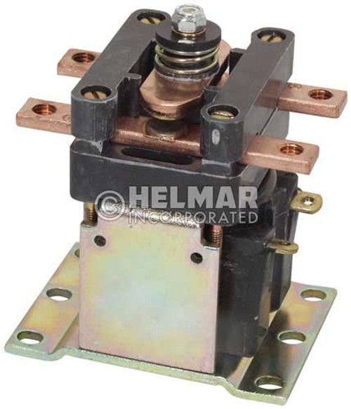 CTR-36-327 36 Volt 150 Amp Contactor, Single Pole - Single Throw - Continuous Coil - Mounting Brackets