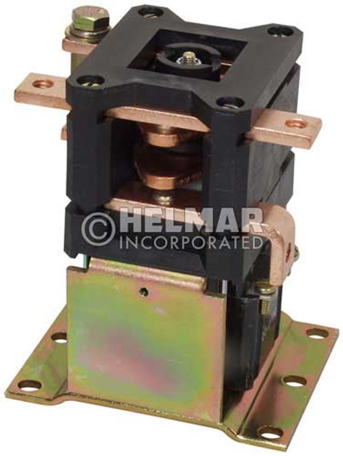 CTR-36-315 36 Volt 300 Amp Contactor, Double Pole - Double Throw - Continuous Coil - Mounting Brackets