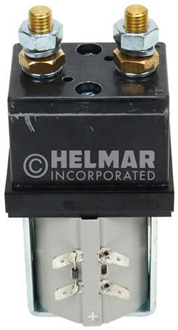 CTR-36-333 36 Volt 300 Amp Contactor, Double Pole - Double Throw - Continuous Coil - Mounting Brackets