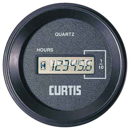 701QN00101248D Curtis 700 Series Solid State Hour Meter and Counter Q Case, 12-48 Volts