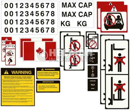 DECAL-KIT-CANADA Universal Sticker