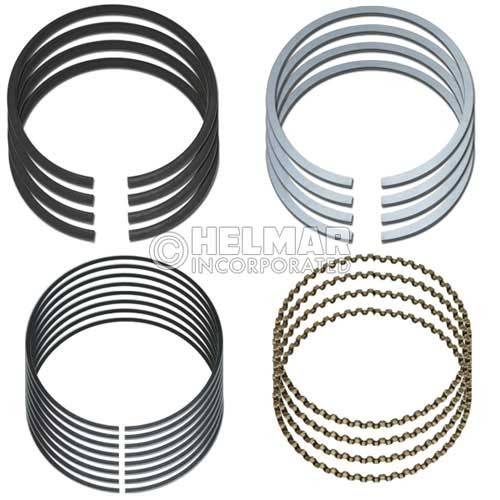 911153 Engine Components for Clark 4G32, .50mm Piston Ring Set