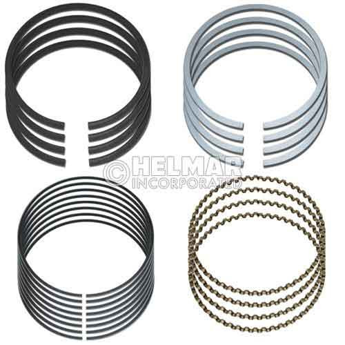MD009627 Engine Component for Mitsubishi 4G33, .50mm Piston Ring Set