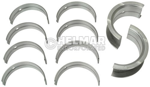 12207-50K00 Engine Component for Nissan H20 II and K-Series, Standard Main Bearing Set