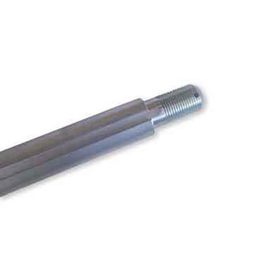 """1"""" Solid 38"""" Steel Axle, 3/4"""" Stepped, Threaded Ends,"""
