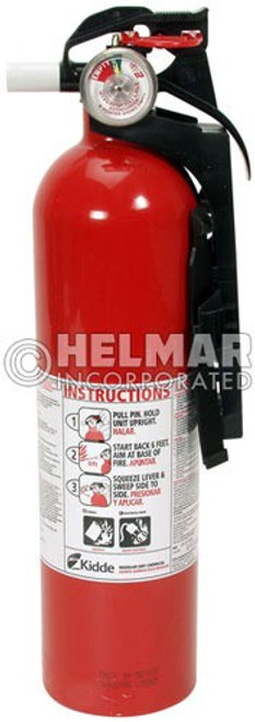 "FE-20 Fire Extinguisher 13.75"" H X 3.25"" Diameter, 2.9lbs."