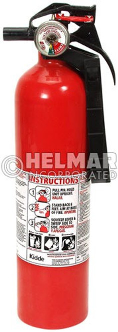 "FE-30 Fire Extinguisher 13.75"" H X 3.25"" Diameter, 2.5lbs."