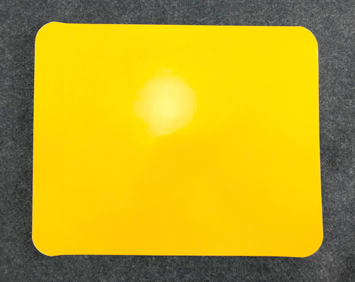 Yellow Stick-On Number Panel