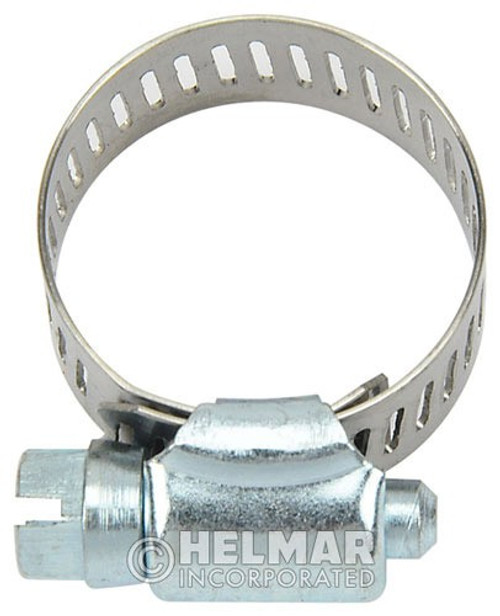 """CL-5210 Hose Clamps 1/2"""" to 1-1/16"""" Diameters SAE Size No. 10"""