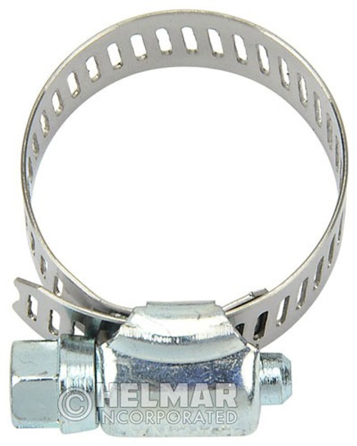 """CL-5212 Hose Clamps 1/2"""" to 1-1/4"""" Diameters SAE Size No. 12"""