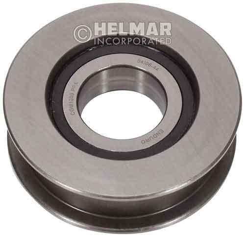 1692093 Hyster Chain Sheave 33.21mm Wide, 108.09mm Outer Diameter, 39.96mm Inner Diameter