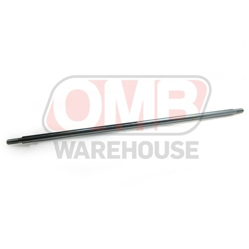 """1"""" Solid 38"""" Steel Axle, 3/4"""" Stepped, Threaded Ends 1401-38"""