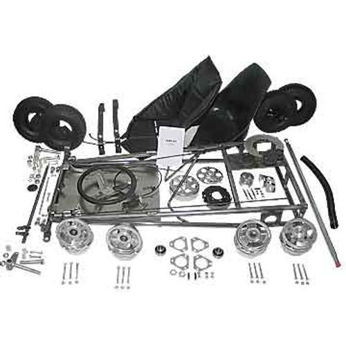 """Go-Kart Kit - 5"""" Aluminum Wheels"""
