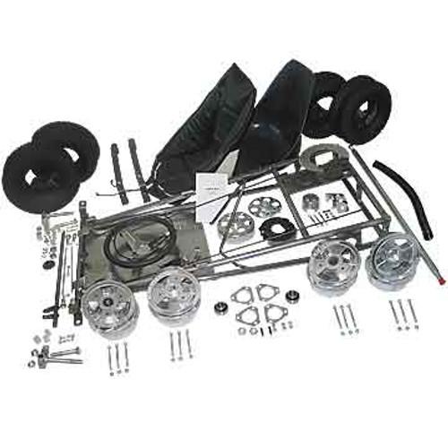 """Go-Kart Kit - 6"""" Aluminum Wheels"""