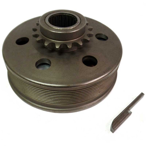 """Noram Star Clutch - #35 Chain - 17 Tooth - 1"""" Bore"""