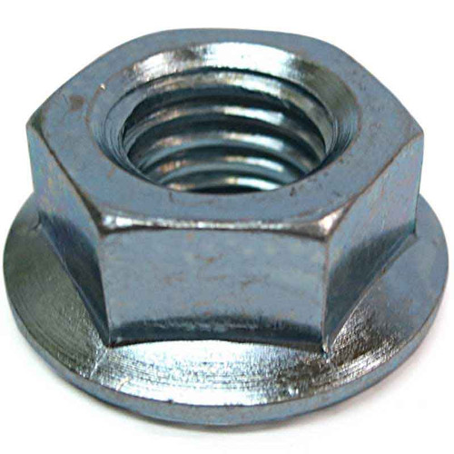 5/8 - 11 Steel Serrated-Flange Hex Locknut