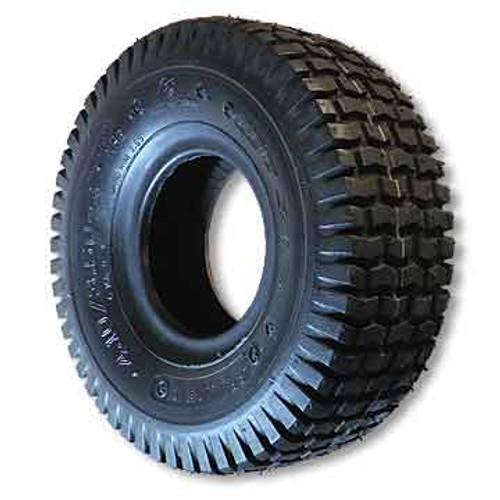 "11 X 4.00 x 5 Turf Tire, 4 Ply, 4.0"" Wide, 10.7"" OD"