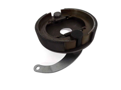 """4-1/2"""" Brake Assembly w/ Steel Backing Plate, 1"""" Bore"""