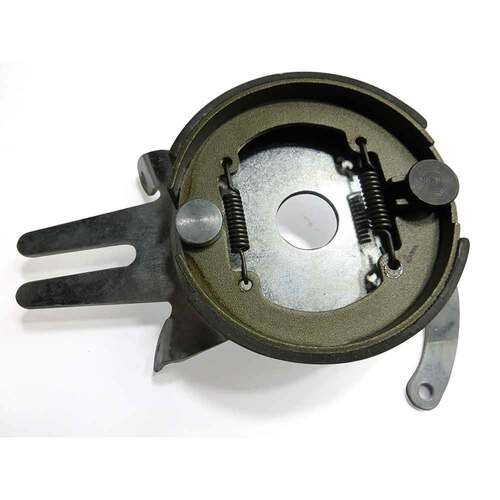 "4-1/2"" Brake Assembly w/ Steel Anchor Backing Plate, 1"" Bore"