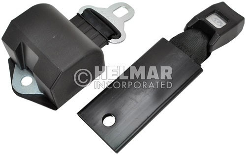 RB-BLACK-60-ELE Normally Open Electric Retractable Seat Belt