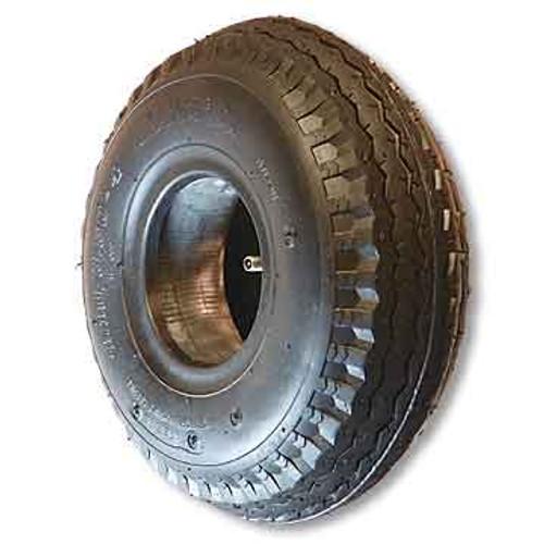 """530 x 450 X 6 Sawtooth Tire, 4 PLY, 5.3"""" Wide, 14.7"""" OD"""
