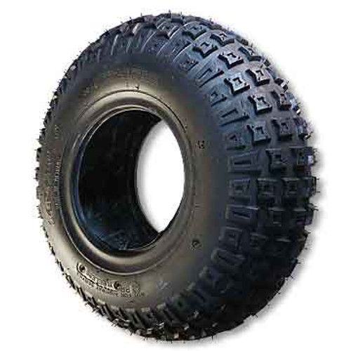 """22 X 11.00 X 8 Knobby Tire, Tubeless, 2 Ply, 9.0"""" Wide, 22.0"""" OD"""