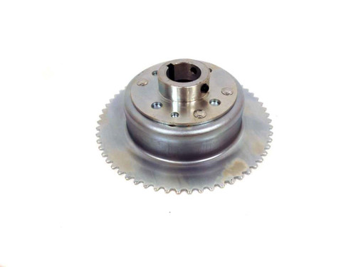 """60 Tooth 35  Chain Sprocket 4-1/2"""" Drum Riveted Mini-Hub, 1-1/4"""" Bore"""