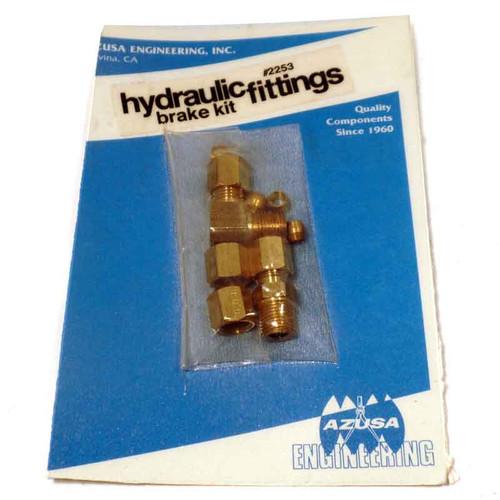 Brass Hydraulic Fittings  Kit