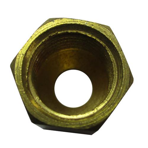 "Compression Nut Brass Fitting, 3/16"""