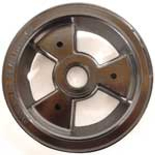 """6"""" AZUSA Tri-Star Wheel, One Half Only, 1.5"""" Wide For Ball Bearing"""