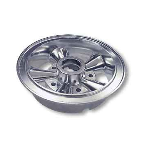 """6"""" AZUSA Astro Wheel, One Half Only, 1 1/2"""" Wide for Ball Bearing"""