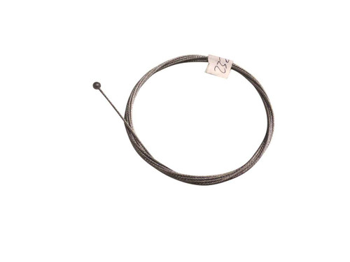 """Control Cable, 7x7 Type w/ Ball, 3/64"""" Diameter X 64"""" Length For 3/16"""" Conduit"""