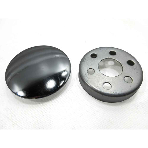Steering Wheel Cap Assembly, Mounting Cup & Chromed Cap