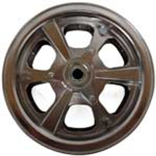 """8"""" AZUSA Spinner Wheel, 3"""" Wide With 5/8"""" ID Standard Ball Bearing"""