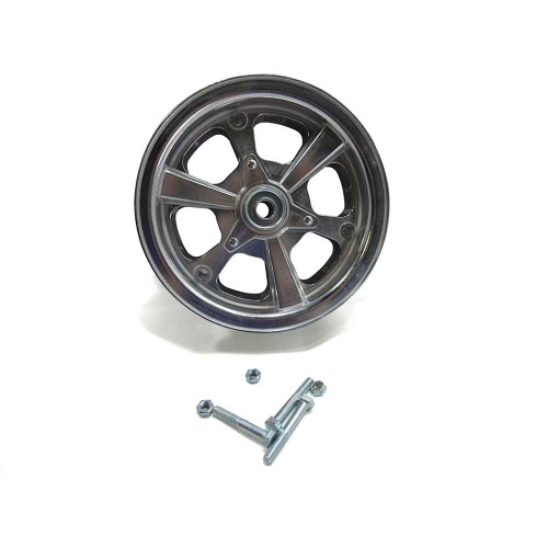 """8"""" AZUSA Spinner Wheel, 3"""" Wide With 3/4"""" Sealed Ball Bearing"""
