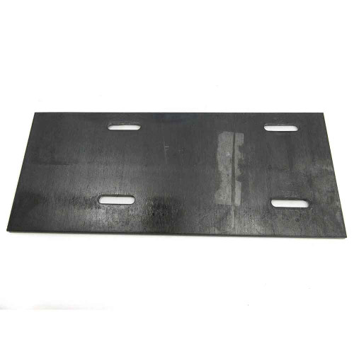 "Engine Mounting Plate, 5"" x 12"", Flat, Heavy"