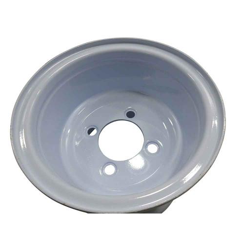 "8"" Steel ATV Wheel, 7"" Wide, Four 1/2"" Bolt Holes on 4"" Circle"