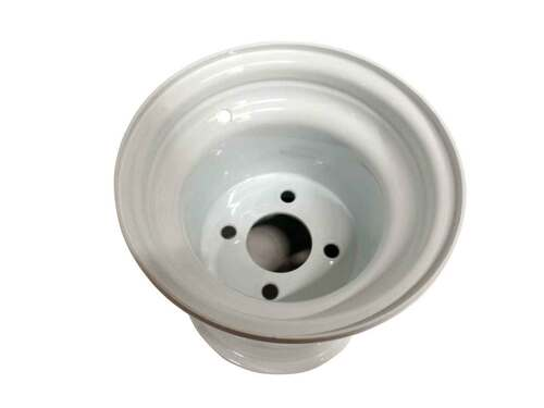 "8"" Steel ATV Wheel, 9"" Wide, Four 1/2"" Bolt Holes on 4"" Circle"