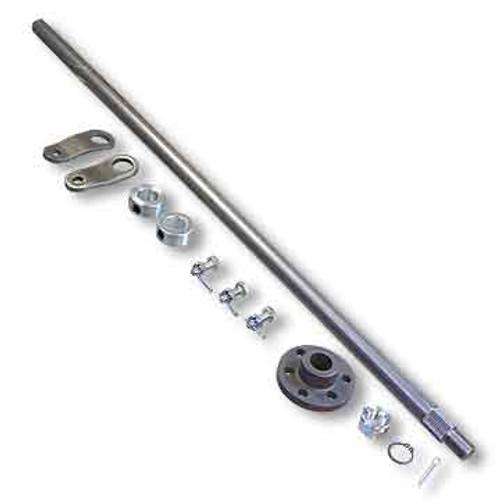 "Steering Shaft, 5/8"" OD & Hub Kit, Unwelded Pitman Arms, 22"" Length"