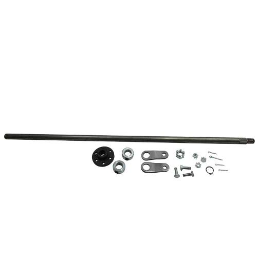 "Steering Shaft, 5/8"" OD & Hub Kit, Unwelded Pitman Arms, 25"" Length"