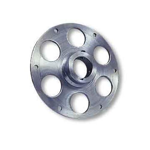 """Uni-Hub, Steel, Zinc-Plated, 1-1/4"""" Bore, 1/4"""" Keyway & Set Screws Only"""
