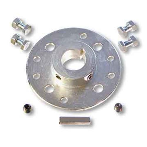 "Mini-Hub, Steel, Zinc Plated, 1-1/4"" Bore & Hardware Kit"