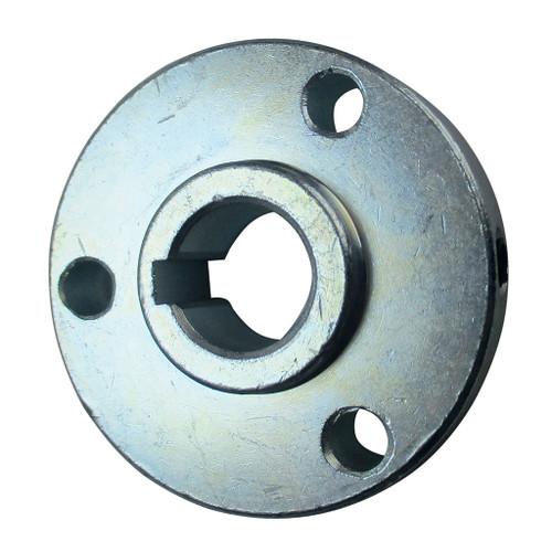 "Hub, Steel, 2-1/8"" OD, 5/8"" Bore, 1/2"" Thick, 3/16"" Keyway, 3 Hole On 1-11/16"" Bolt Circle, (P5256 Pattern)"