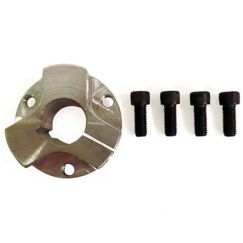 "Billet Hub, Steel, 3/4"" Bore, 1/2"" Thick, 3/16"" Keyway, 3 Hole On 1.680"" Bolt Circle, (P5248 Pattern)"