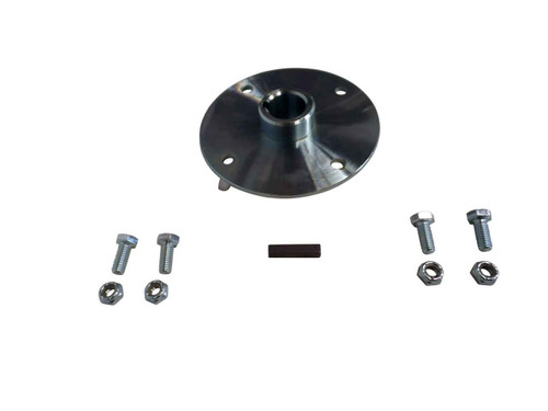 """Sprocket Hub For 1"""" Live Axles, Heavy Duty Steel, With Hardware, 4"""" Bolt Circle"""