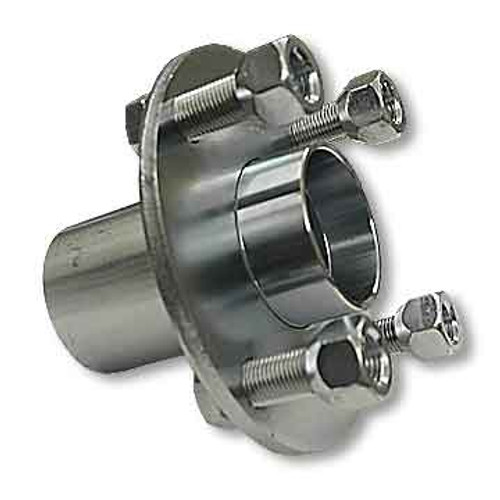 Adapter Hub, Zinc Plated Steel Without Cup And Cone