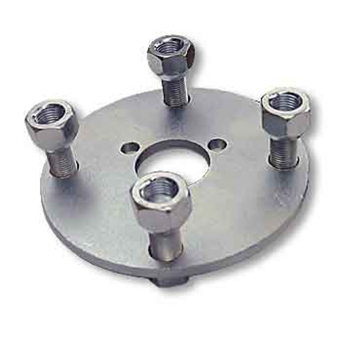 """Adapter Hub, Zinc Plated, With 3 Mounting Holes On 1-7/8"""" Bolt Circle"""