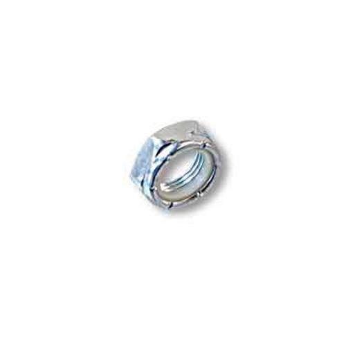 Locknut/axle Nut, 3/4-10 Thin, Nylon Insert, Zinc Plated