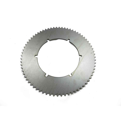 """72 Tooth Steel Sprocket 35 Chain, 4.930"""" Bore, 6 Holes, 5.25"""" Bolt Circle"""